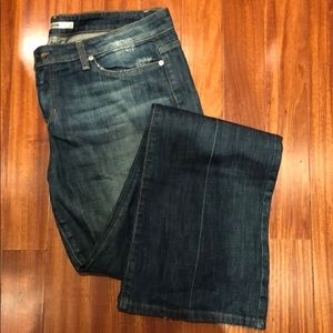 Joe's Jeans, faded wash, size 32